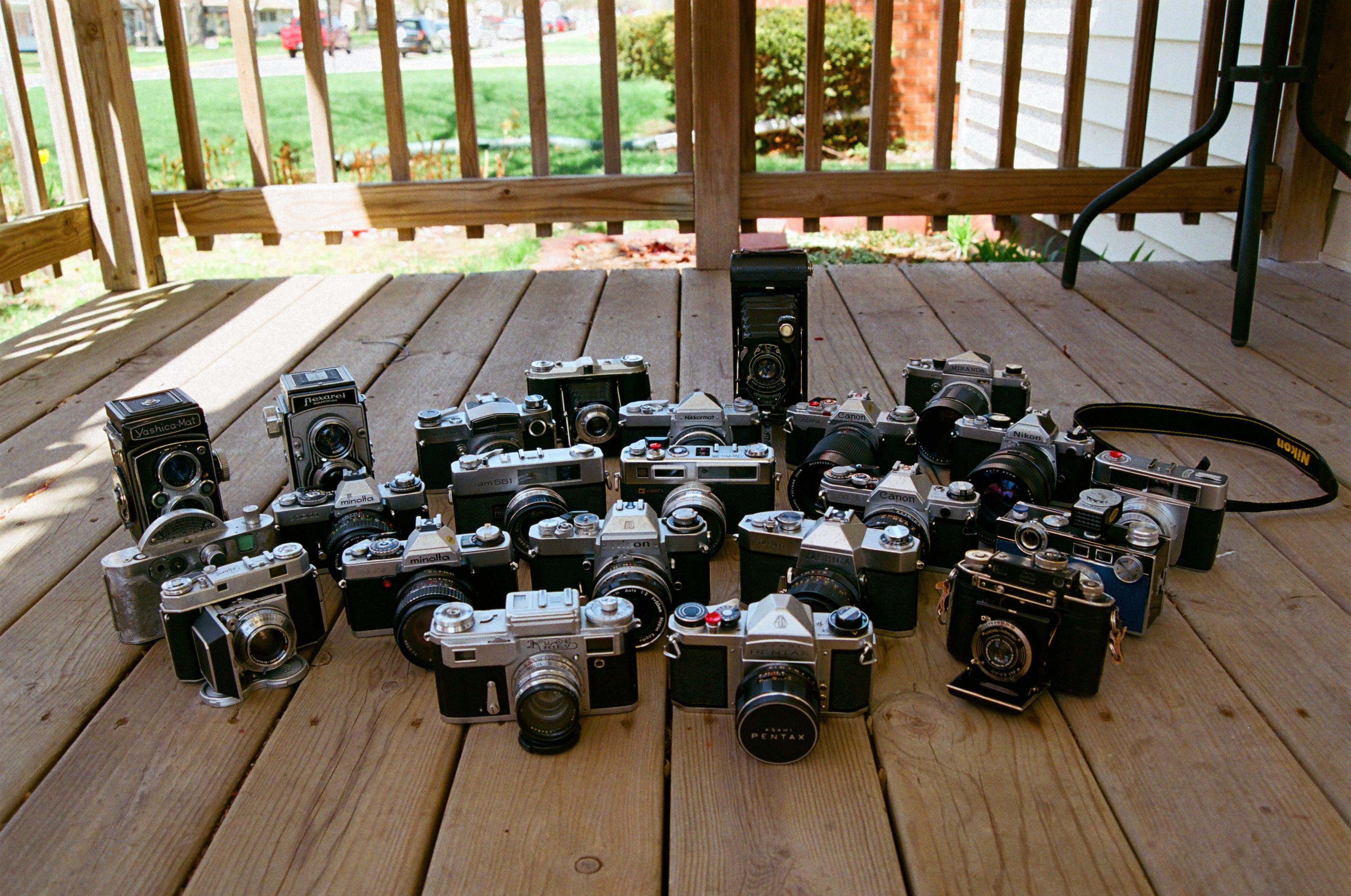 Rating Vintage Cameras