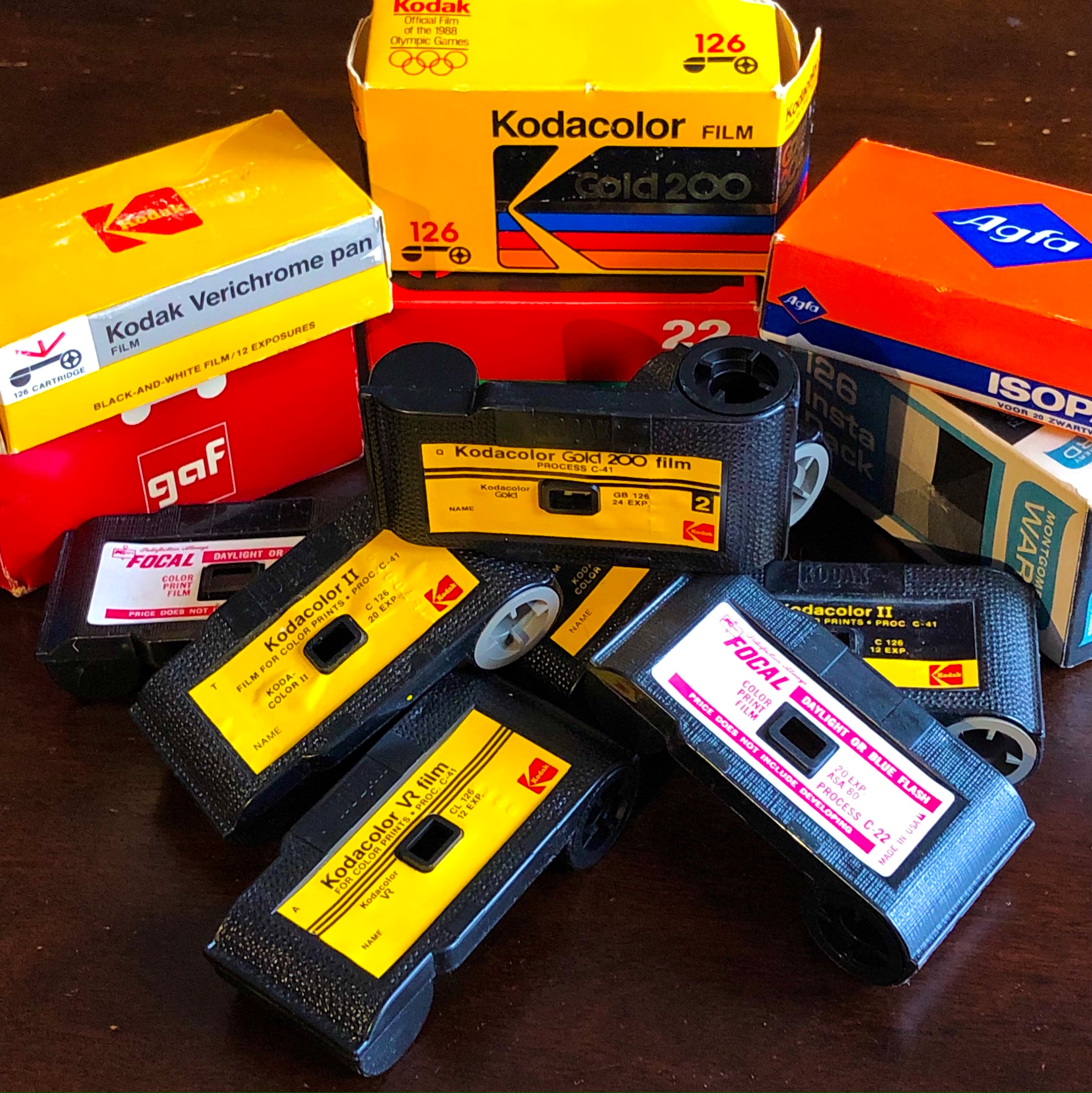 Reloading Instamatic Film (The Better Way)