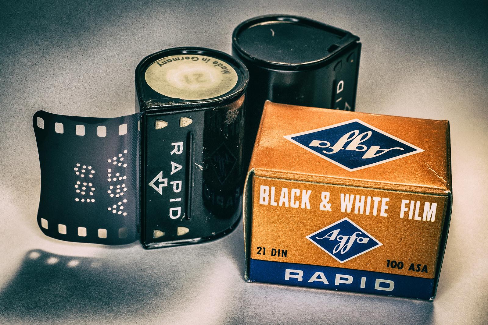 Keppler's Vault 84: AGFA Rapid Film